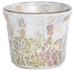 Yankee Candle - Gold and Pearl Mosaic - świecznik na sampler