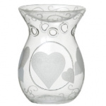 Yankee Candle – Etched Hearts – kominek do wosków – 1 szt.