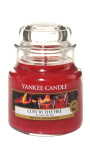 Yankee Candle - Mały słoik Cosy By The Fire - 104g