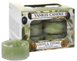 Yankee Candle - Tealight Olive & Thyme