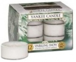 Yankee Candle - Tealight Sparkling Snow