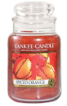 Yankee Candle - Duży słoik Spiced Orange - 623g