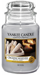 Yankee Candle - Duży słoik Crackling Wood Fire - 623g