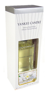 Yankee Candle – Dyfuzor zapachowy New Decor White Gardenia – 88 ml
