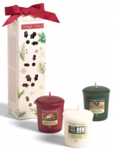 Yankee Candle - Magical Christmas Morning Zestaw 3 samplerów