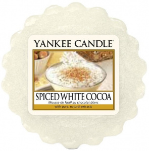Yankee Candle - Wosk Spiced White Cocoa - 22g
