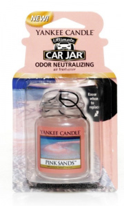 Yankee Candle - Car jar ultimate Pink Sands - 1 szt.