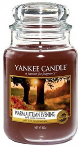 Yankee Candle - Duży słoik Warm Autumn Evening - 623g