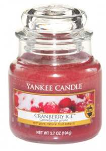 Yankee Candle - Mały słoik Cranberry Ice - 104g
