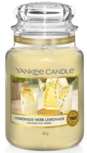 Yankee Candle - Duży słoik Homemade Herb Lemonade - 623g