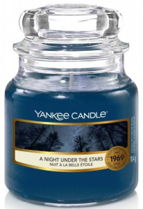 Yankee Candle - Mały słoik  A Night Under The Stars - 104g