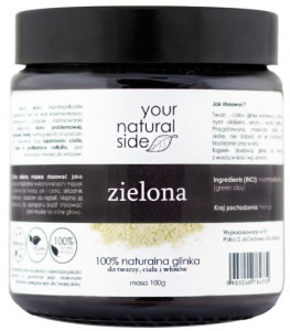Your Natural Side - Glinka Zielona  - 100g
