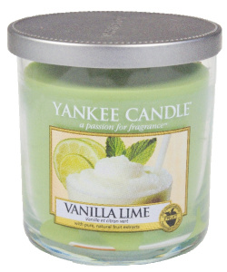 Yankee Candle – Mały pilar Vanilla Lime - 198g