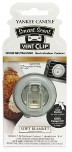 Yankee Candle - Car vent clip Soft Blanket - 1szt.