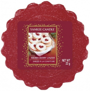 Yankee Candle - Wosk Merry Berry Linzer - 22g
