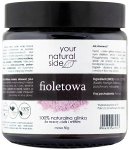 Your Natural Side - Glinka Fioletowa Kaolin  - 50g