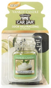 Yankee Candle - Car jar ultimate Vanilla Lime - 1szt.