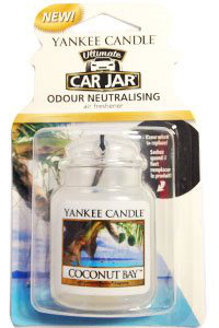 Yankee Candle - Car jar ultimate Coconut Bay - 1 szt.
