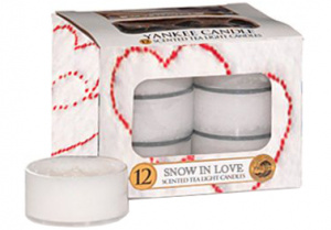 Yankee Candle - Tealight Snow in love
