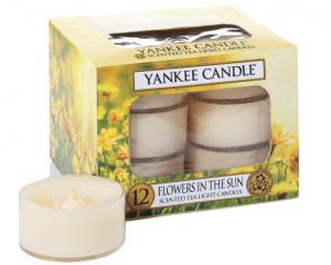 Yankee Candle - Tealight Flowers in the Sun