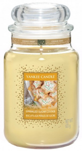 Yankee Candle - Duży słoik Sprinkled Sugar Cookie - 623g