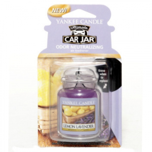Yankee Candle – Car jar ultimate Lemon Lavender – 1 szt.