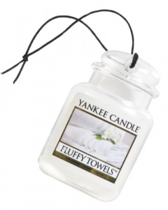 Yankee Candle - Car jar ultimate Fluffy Towels - 1 szt.