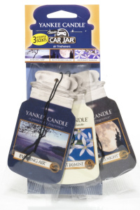 Yankee Candle - Car jar variety pack Evening Stroll - 3 szt.