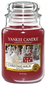 Yankee Candle - Duży słoik Christmas Magic - 623g