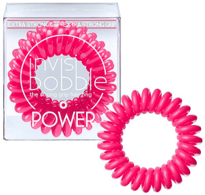 Invisibobble - Gumki do włosów POWER Pinking of you - 3szt.