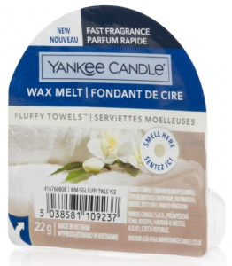 Yankee Candle - Wosk Fluffy Towels - 22g