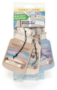 Yankee Candle - Car jar variety pack Seacoast Highway - 3 szt.