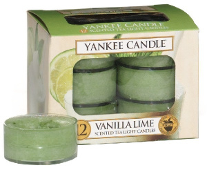 Yankee Candle - Tealight Vanilla Lime