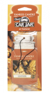 Yankee Candle - Car jar Leather - 1 szt.