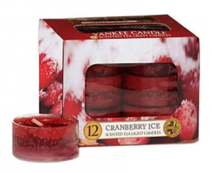 Yankee Candle - Tealight Cranberry Ice