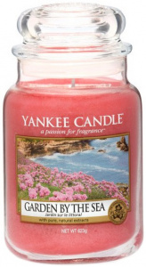 Yankee Candle - Duży słoik Garden by the Sea - 623g