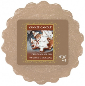 Yankee Candle - Wosk Iced Gingerbread - 22g