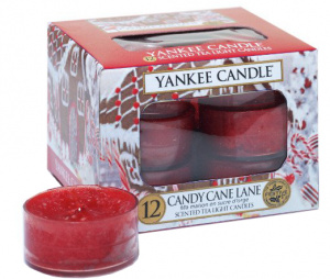 Yankee Candle - Tealight Candy Cane Lane
