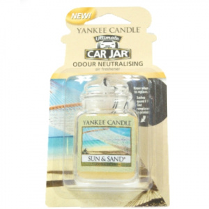 Yankee Candle – Car jar ultimate Sun &Sand – 1 szt.