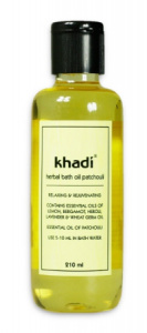 Khadi - Olejek do kąpieli patchulowy - 210 ml