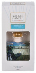 Yankee Candle - Dyfuzor zapachowy Signature Clean Cotton - 88ml