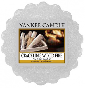 Yankee Candle - Wosk Crackling Wood Fire - 22g