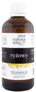 Your Natural Side - Olej Ryżowy - 100 ml