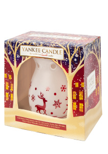 Yankee Candle - Baby It's Fun Outside - zestaw 3 wosków + kominek