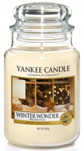 Yankee Candle - Duży słoik Winter Wonder - 623g