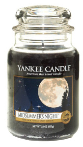 Yankee Candle - Duży słoik Midsummer's Night - 623g