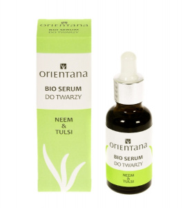 Orientana - BIO Serum do twarzy Neem i Tulsi - 30 ml