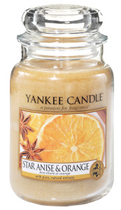 Yankee Candle - Duży słoik Star Anise & Orange - 623g