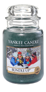 Yankee Candle - Duży słoik Bundle Up - 623g