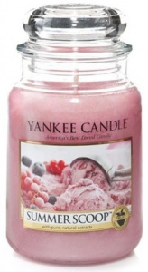 Yankee Candle - Duży słoik Summer Scoop - 623g